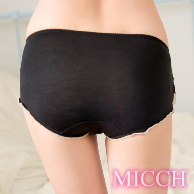 MICCH 翩翩圓舞 高雅蕾絲擺動迷情內褲