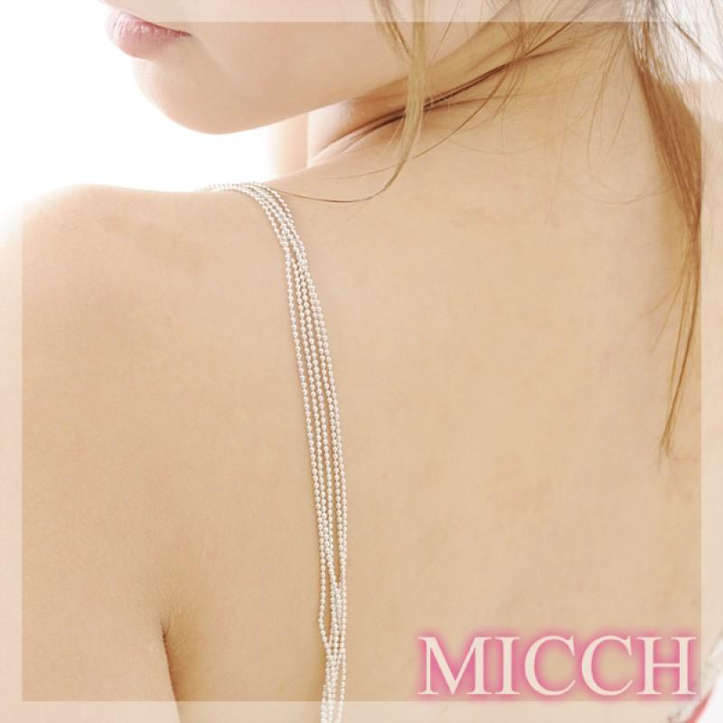 【MICCH】超Cute小珍珠閃耀搭肩帶