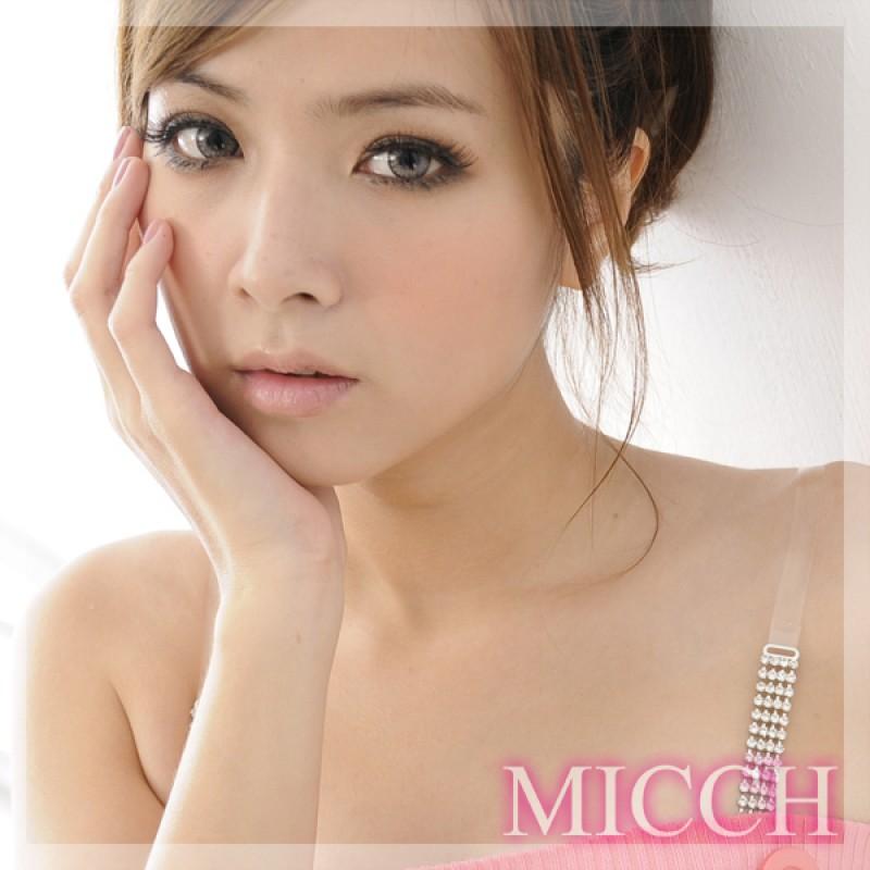 【MICCH】四方排鑽閃耀捷克鑽石肩帶