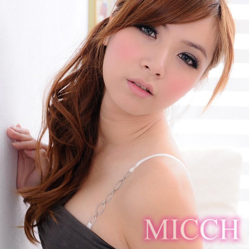 【MICCH】白色情人時尚肩帶