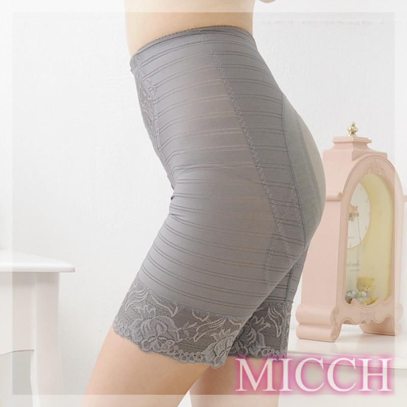 MICCH 560丹舒適竹炭機能翹屁束褲