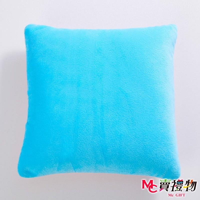 Mc賣禮物-MIT超微粒科技方形抱枕-星星條紋【P1022S】