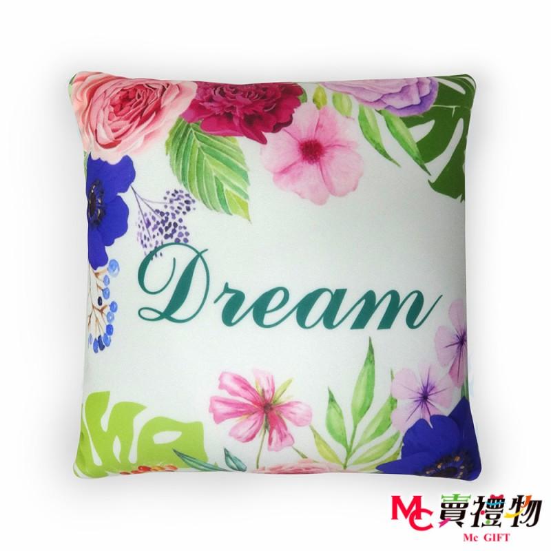 Mc賣禮物-MIT超微粒科技方形抱枕-Dream【P1037S】