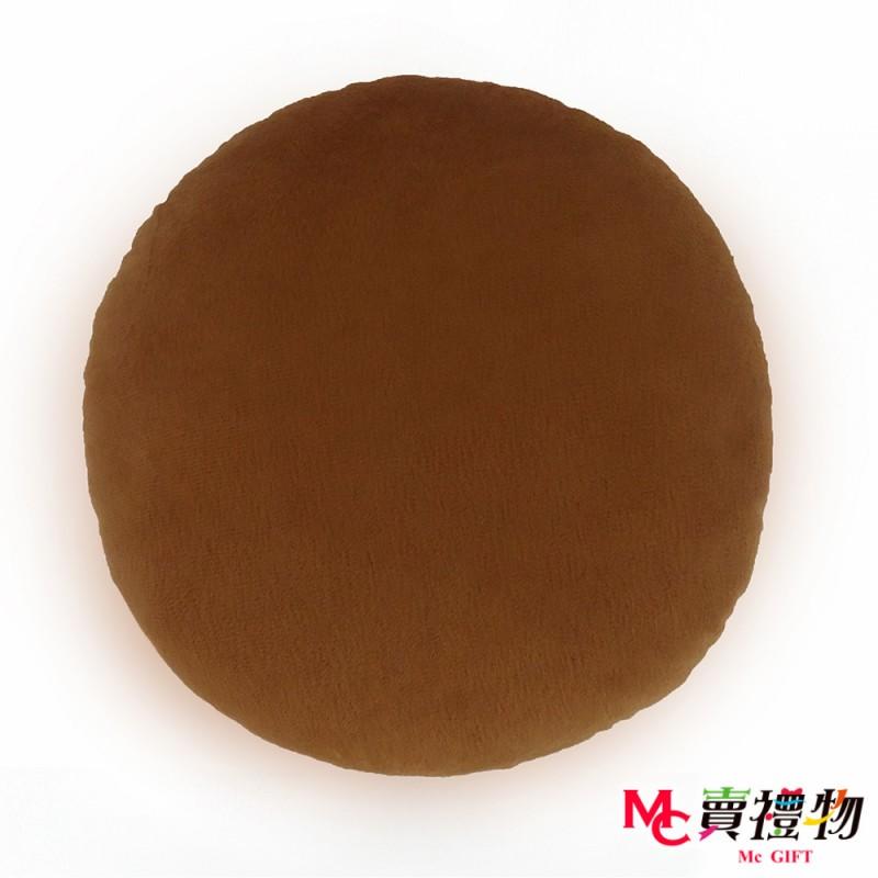 Mc賣禮物-MIT超微粒科技圓形抱枕-薑餅人【P1055C】
