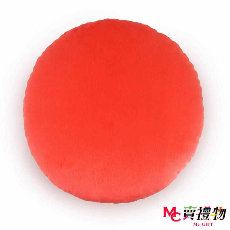 Mc賣禮物-MIT超微粒科技圓形抱枕-聖誕老公公【P1056C】