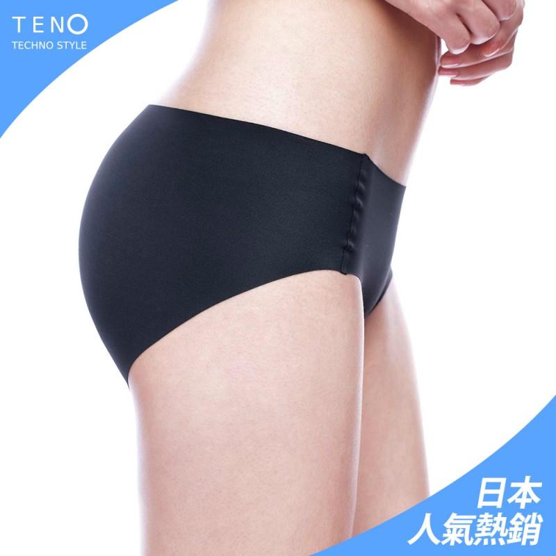 【MICCH】TENO極緻無縫無痕內褲 零感肌著*絲亮黑(三件組)