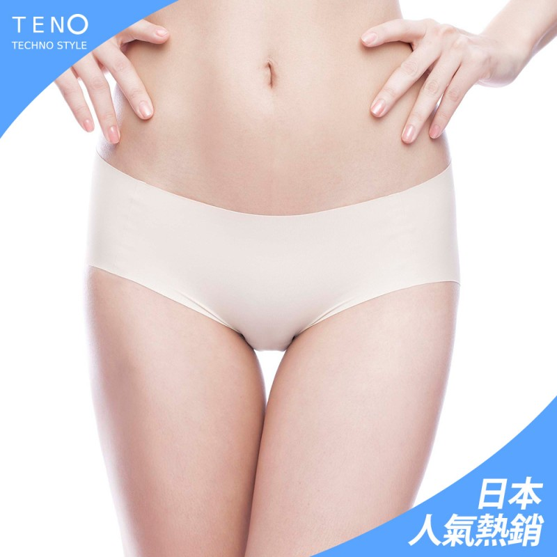 【MICCH】TENO極緻無縫無痕內褲 零感肌著*粉裸膚(三件組)